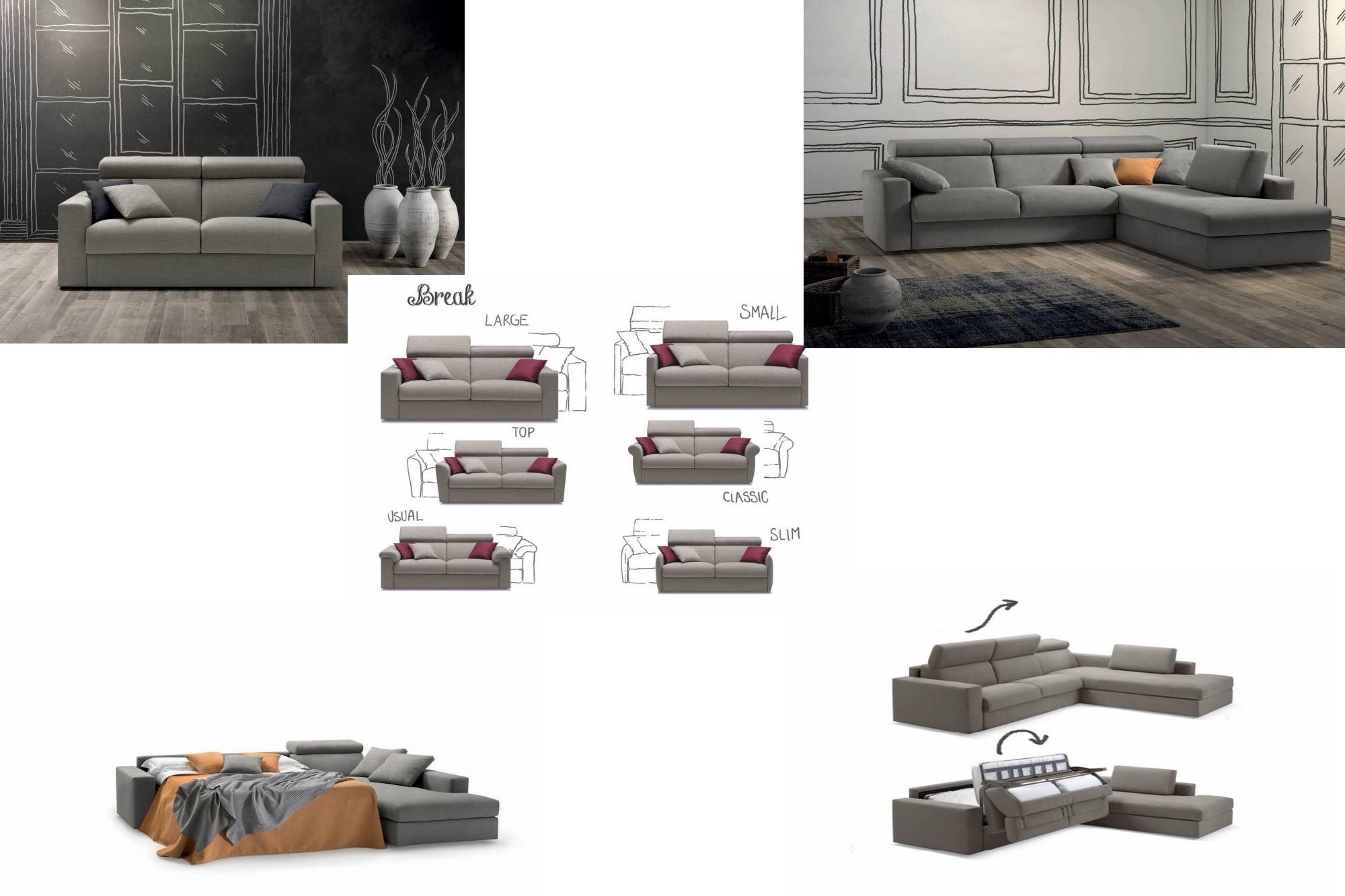 Divani letto mobilificio Cominazzi Cavallirio - Novara