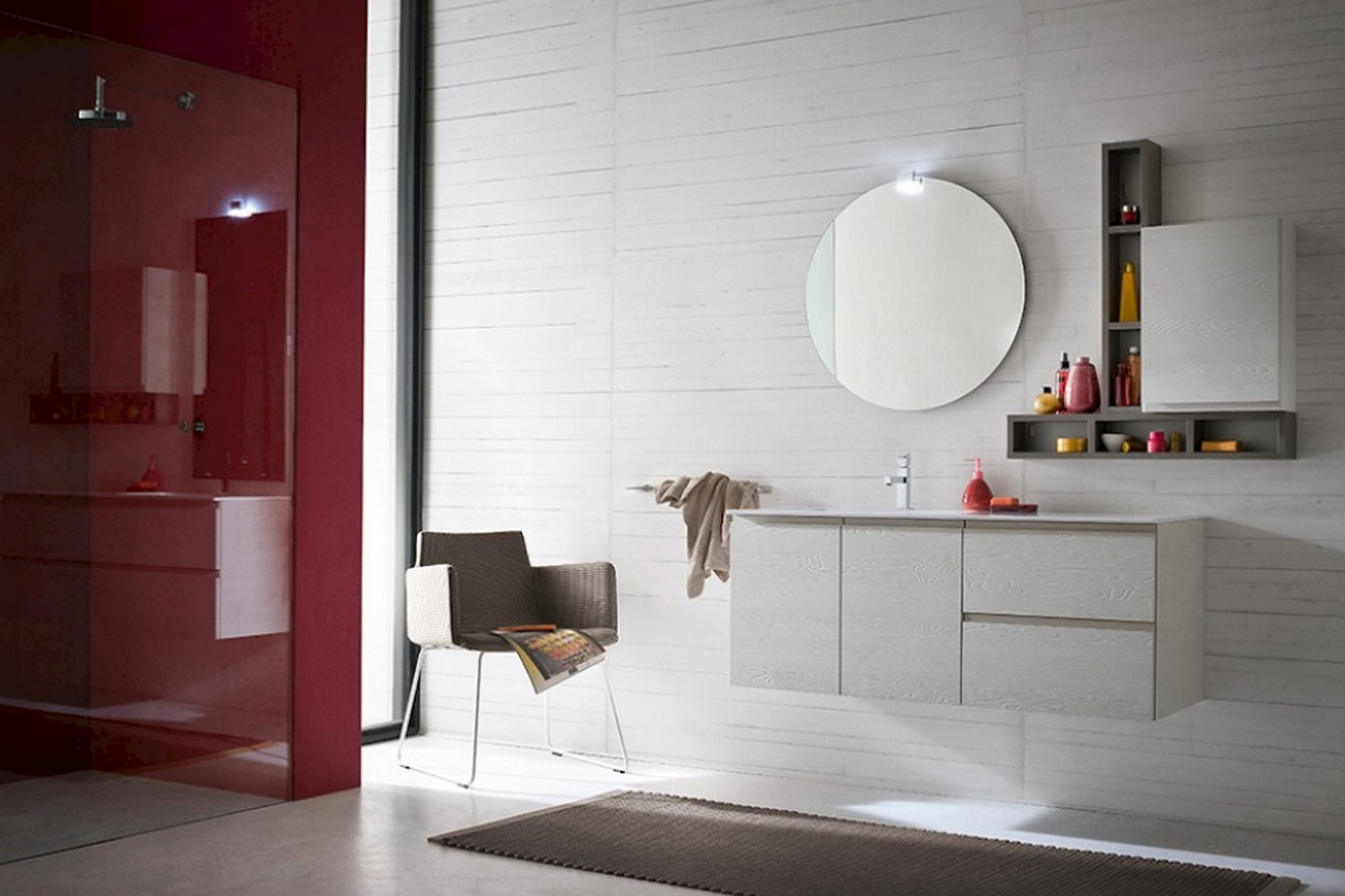 Arredo bagno mobilificio Cominazzi Cavallirio - Novara