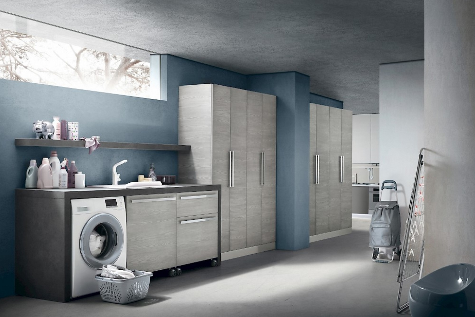 Arredo bagno e lavanderia mobilificio Cominazzi Cavallirio - Novara